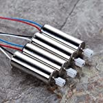 Alloet New 4 Pcs Syma Motor Spare Parts CCW/CW for SYMA X5C X5C-1 X5 RC Quadcopter Drone