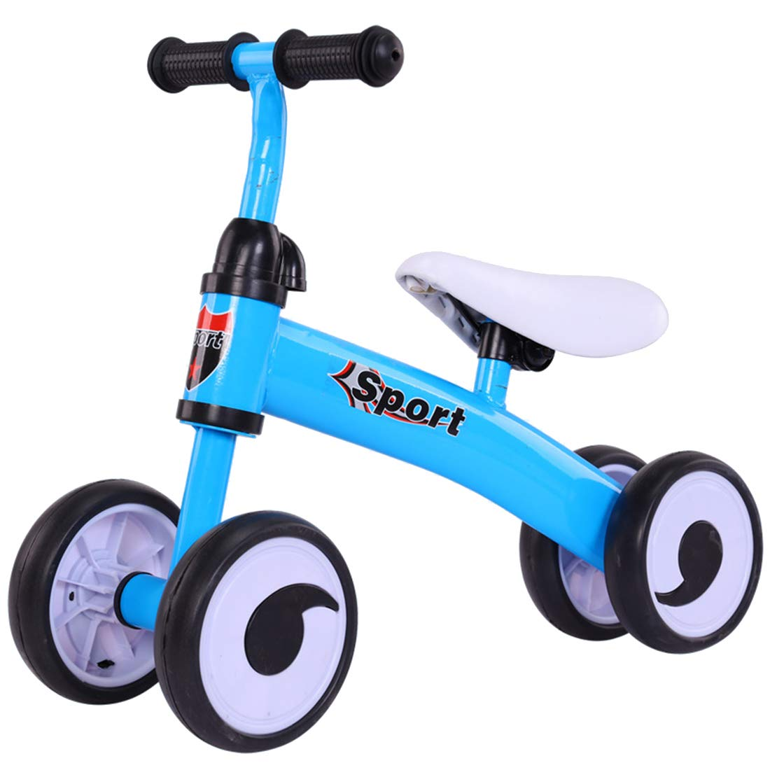 blueee OneSize GRXXX KinderVierradBalance Car Slide Car ohne Pedal Roller Spielzeugauto 13 Jahre alt,blueeeOneSize