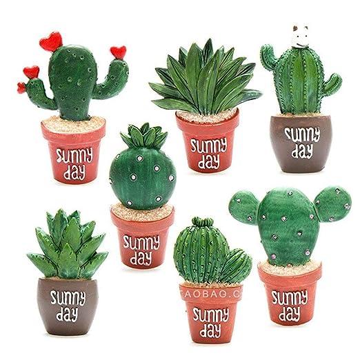 Feli546Bruce Imanes para Nevera, diseño de Cactus, Plantas ...