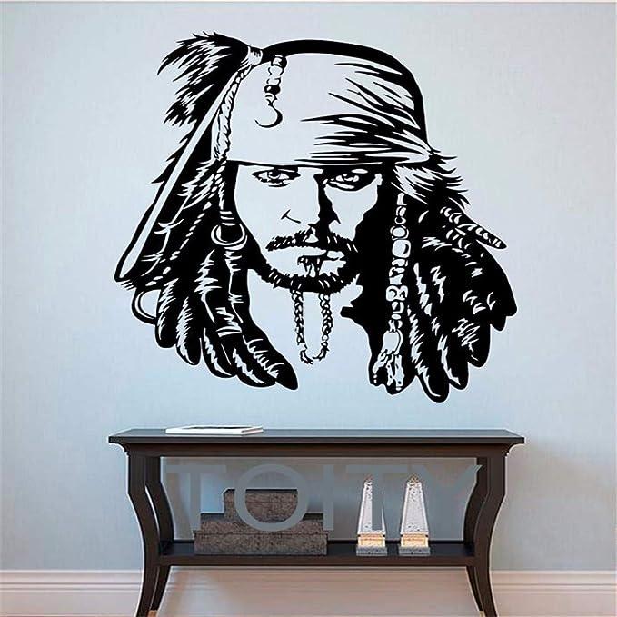 Yyoutop Calcomanías de Vinilo Pirata el Caribe Cartel de ...