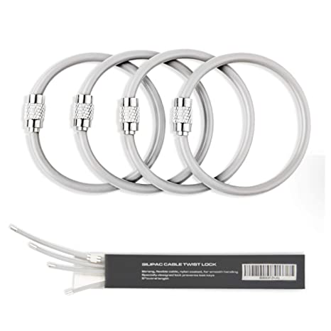 Amazon.com: Silipac - Llavero de alambre para coche con ...
