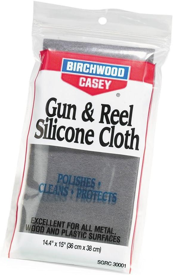 Birchwood Casey de Silicona Pistola y Gamuza de Carrete