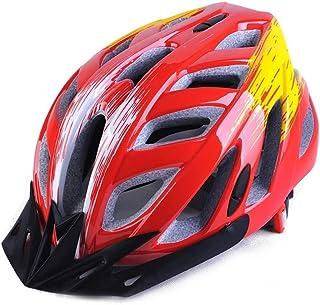 MAXTK Casque de Moto Respirant Vélo de Montagne Casque de Protection Sécurité Casquette pour Homme et Femme d'équitation équipement léger