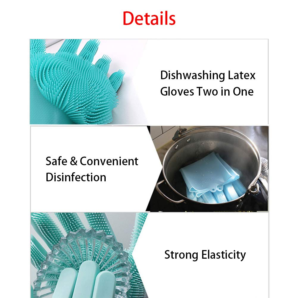 Amazon.com: Jaklove Magic SakSak - Guantes de silicona ...