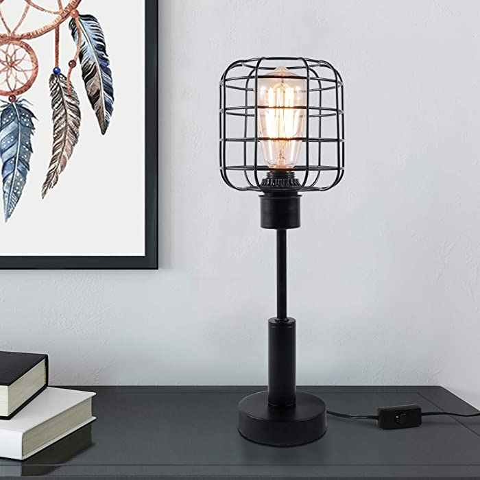 The Best Office Desk Lamp With Cage Shade