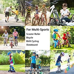 XJD Casque Vélo Enfant Filles Garçons 3-13 Ans Casque Enfant Vélo CE en Certification Réglable Anti-Choc Protection pour Multi-Sport Cyclisme Skate Roller Trottinette Skateboard