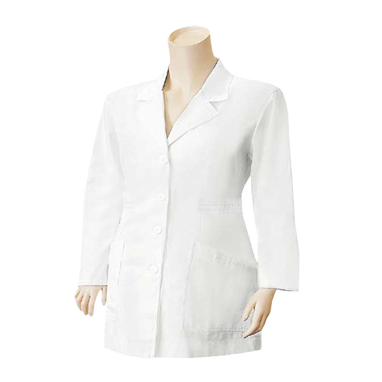 MISEMIYA - Bata Laboratorios Uniformes MÉDICA Dentista Doctora Enfermera Uniforme MEDICAS Veterinaria(Materiales Grantizados:65% Poliester 35% Algodón ...