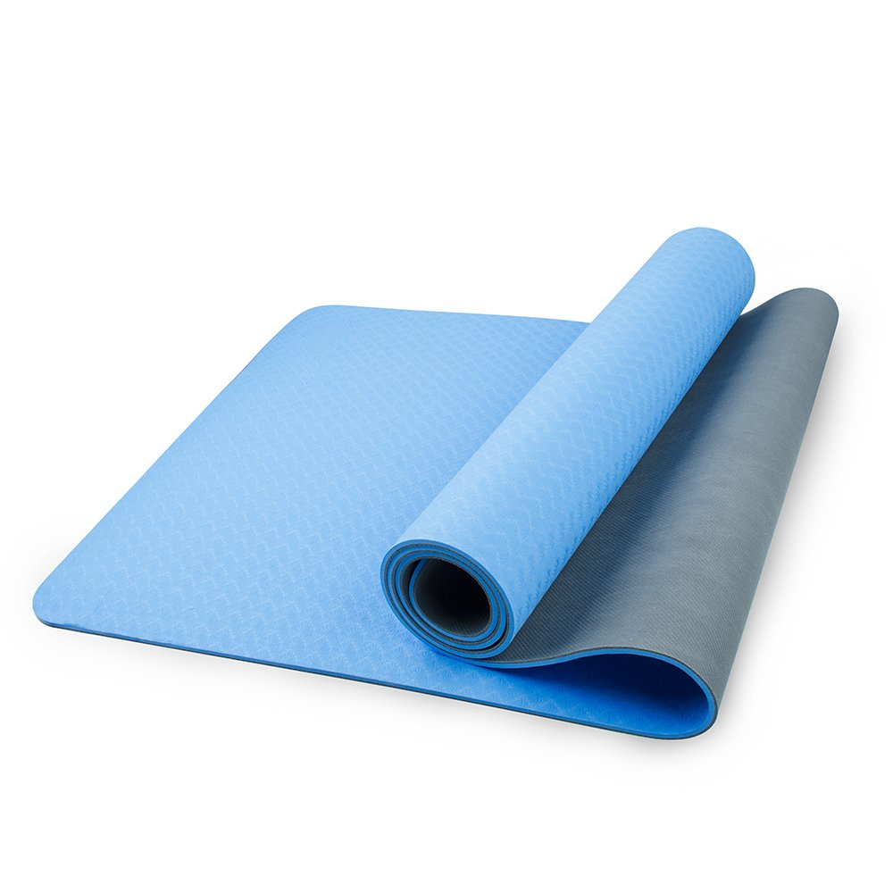 mansov Pro mejor Esterilla de yoga, 6 mm Doble ...