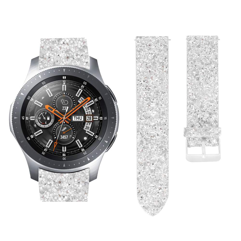for Samsung Gear S3 Band Classic Frontier Smart Watch Band Women Shiny ad4a7dd915