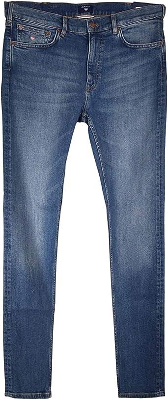 GANT Regular Jeans Pantal/ón de Vestir para Hombre