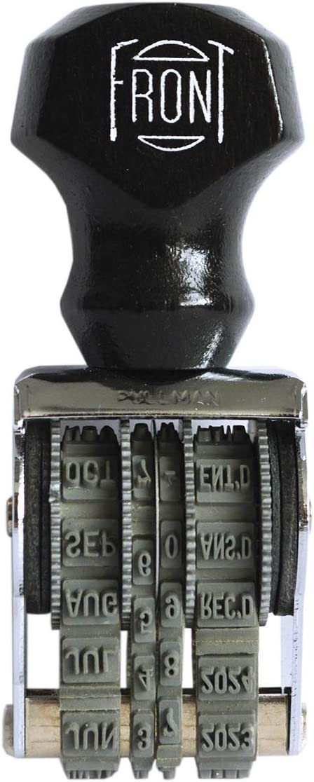 Pullman PD #1-1//2 Date Stamp 010653 100/% Made in The U.S.A Traditional Dater Stamp