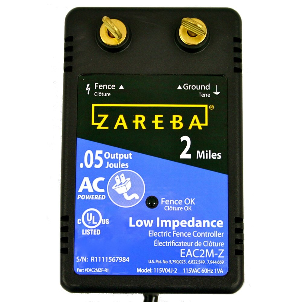 Amazon zareba eac2m z 2 mile ac low impedance fence charger amazon zareba eac2m z 2 mile ac low impedance fence charger discontinued by manufacturer agricultural livestock electric fence chargers garden sciox Choice Image