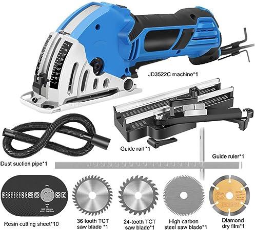 Famyfamy Kit De 18 Mini Scie Circulaire Electrique Portative 550 W Scie Electrique Multifonction Pour Bois Carrelage Plastique Coupes Amazon Fr Bricolage