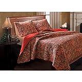 Greenland Home 3-Piece Persian Quilt Set, Full/Queen offers