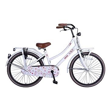 e43d5ecae Bicicleta Chica 20 Pulgadas Zonix Oma con Freno Delantero al Manillar y  Contropedal Trasero 85% Montada Blanco: Amazon.es: Deportes y aire libre