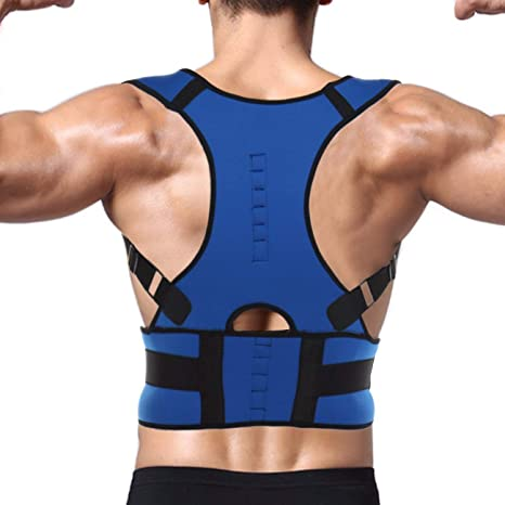 Magnético Ajustable clavícula apoyo lumbar de hombro soporte para ...