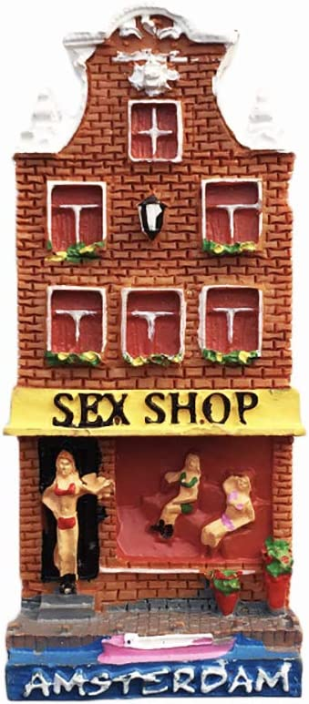 Amsterdam Holland Sex Shop 3d Kuhlschrankmagnet Touristische Souvenirs Harz Magnetische Aufkleber Kuhlschrankmagnet Home Kitchen Dekoration Aus China Amazon De Kuche Haushalt Wohnen