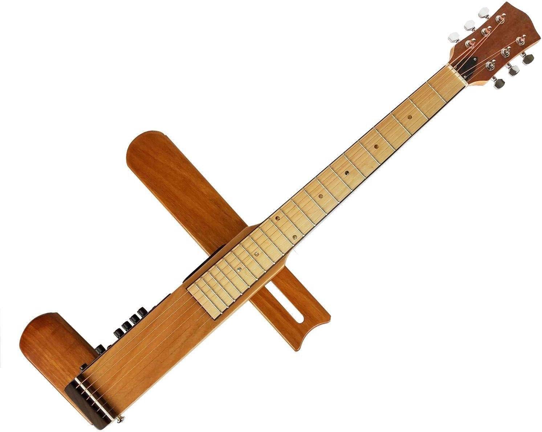 Cross Guitar 2.0 - Guitarra acústica plegable con correa de acero ...