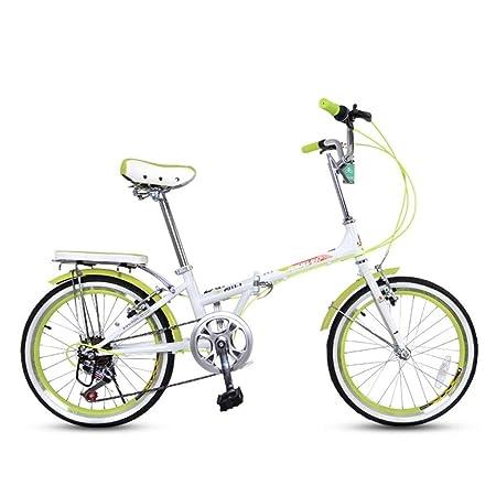Folding Bikes Bicicleta Plegable para Hombre y Mujer, Ultraligera ...
