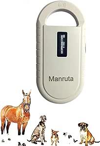 134.2khz Pet ID Microchip Scanner FDX-B ISO 11784/11785 RFID Animal Handheld Reader with Bag