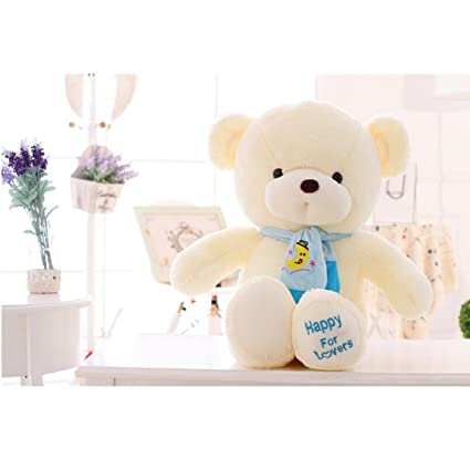 JEWH Teddy Bear with Scarf - Stuffed Animals Bear Plush Toys - Teddy Bear Doll Lovers