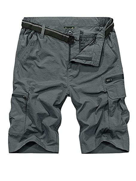 Pantaloni Uomo da Lavoro Combat Cargo Multi-Tasche Elasticizzati