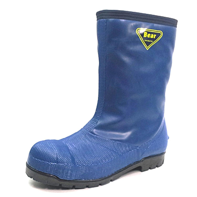 [シバタ工業] SHIBATA INDUSTRIAL 安全長靴 冷蔵庫長DX レコ4DX B00GNS6X6I  ネイビー 27.0 cm