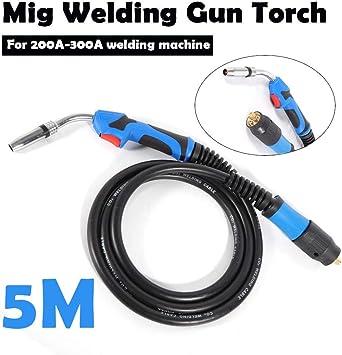 MB24 Mig Welding Gun Mig Welder Torch Stinger Tool Parts 16.5ft//5M Lead Length