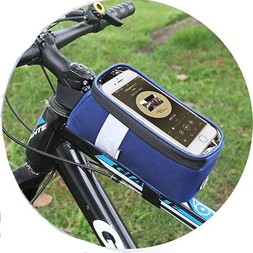 Bolsa De Marco Frontal para Teléfono De Bicicleta, Pantalla Táctil ...