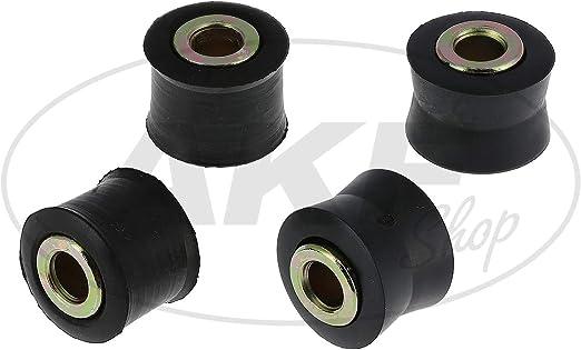 Swh Set 4x Gummibuchse Mit Hülse Für Federbein Swh Simson S51 S50 S53 S70 S83 Auto