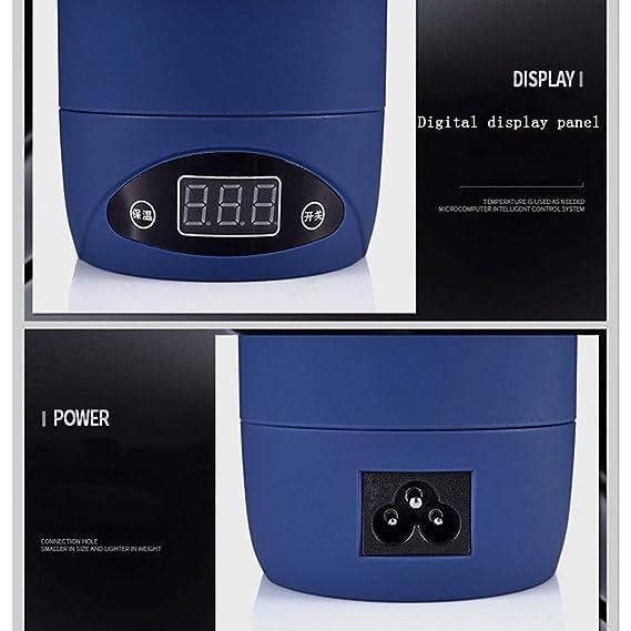 Smile Viajes Hervidor eléctrico, Mini múltiples Funciones Portable ...