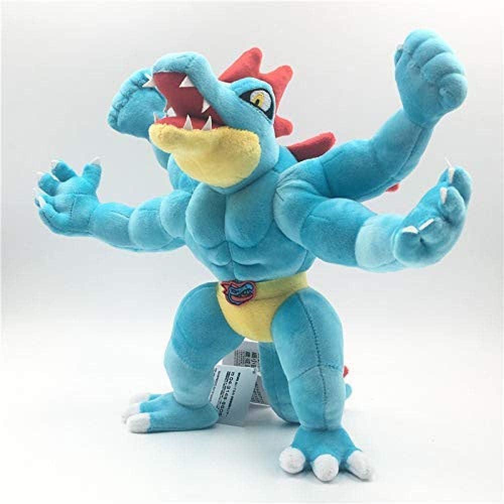 N/D Juguete de Peluche Serie de Juegos de Anime Nuevo 30 cm Dinosaurio de Cuatro Manos Juguete de Peluche Regalo de cumpleaños para niños