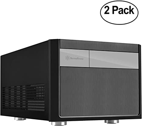 Silverstone tek Micro-ATX, Mini-DTX, Mini-ITX - Caja para Ordenador (Formato pequeño, Compatible con Cajas ATX PSU SG11B, 2 Unidades): Amazon.es: Electrónica