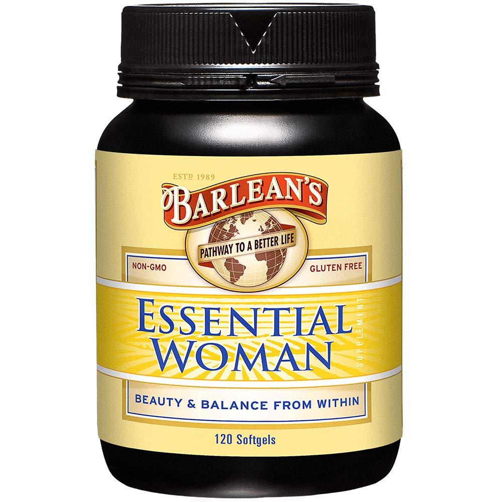 Barlean's Oils Essential Woman, 120 Count Bottle