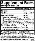 Carlson Right for The Macula, 1,000 mg DHA + 20 mg