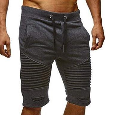 Pantalones Cortos para Cortos Hombres Pantalones Verano De ...