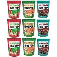 Multigrain BOB Pop : Chocolate Covered Puff 9 Bags (Combo)