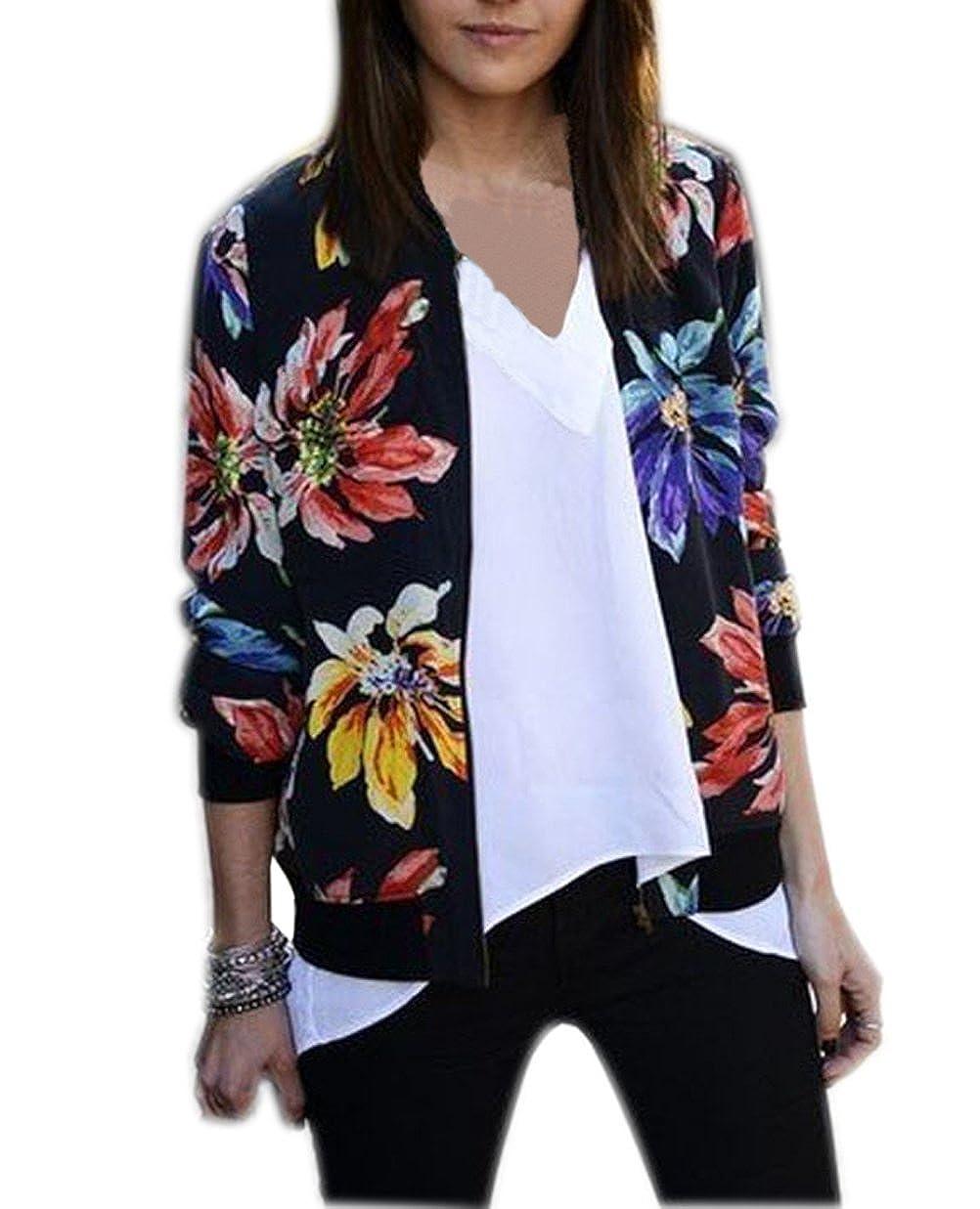 肌触りがいい Justモデルレディースプリント国立風長袖ジャケット Medium カラフル B01M0Q3DDD, くろさわ刺繍 d59b9c3f