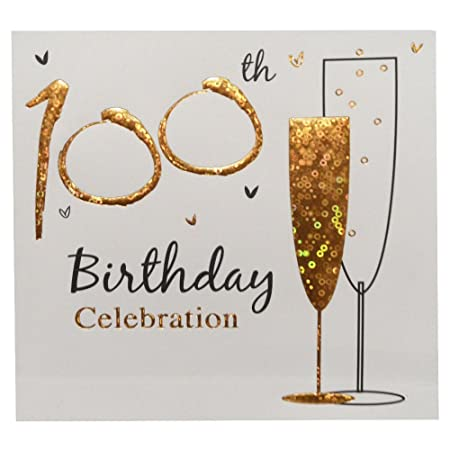 100th birthday party invitations with envelopes pack of 36 amazon