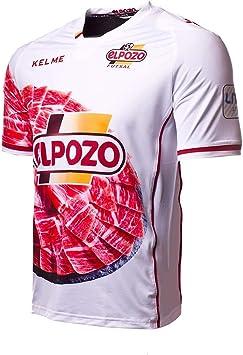 KELME ElPozo Murcia FS Segunda Equipación 2017-2018, Camiseta, Blanco-Rojo, Talla M: Amazon.es: Deportes y aire libre