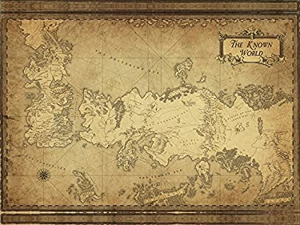 Amazon.com: Best Print Store - Game of Thrones Inspired - Westeros ...