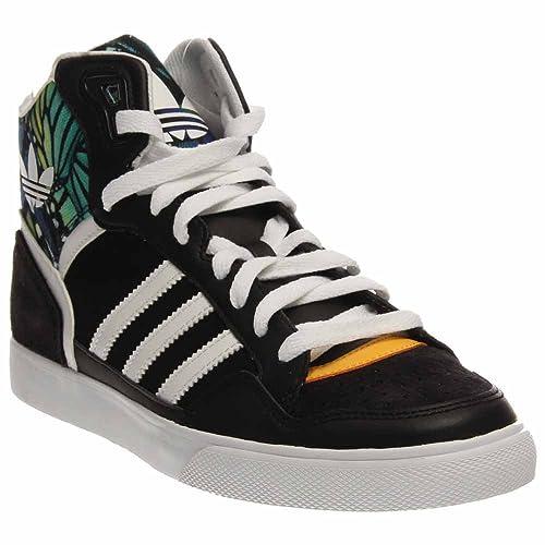 adidas extaball schwarz - weiße frauen - trainer m20867: