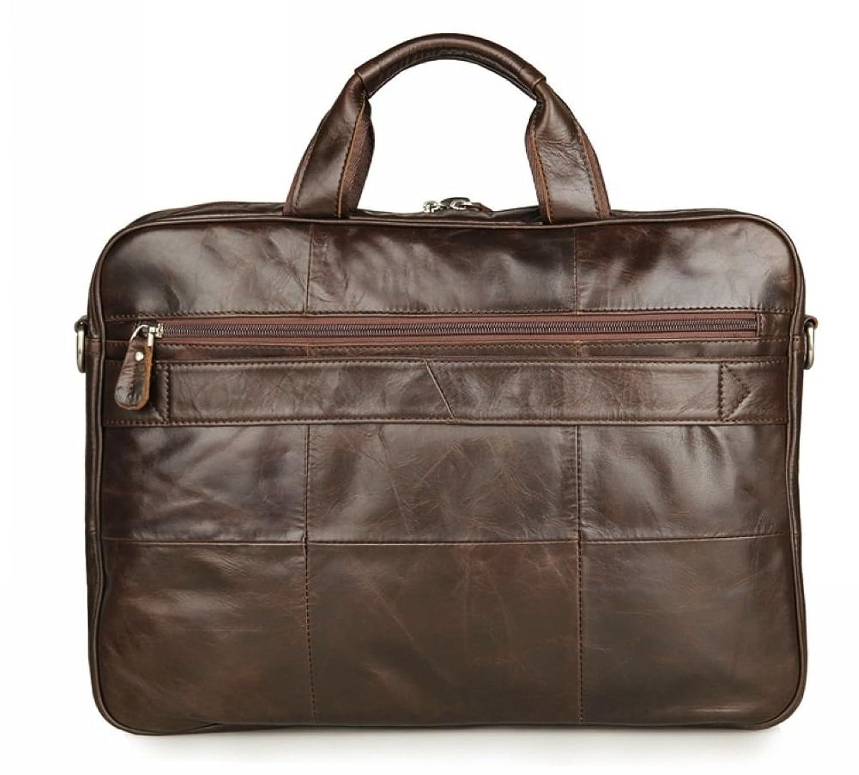 66f22594cc Jsix Homme sac à main besace CARTABLE EN Cuir sac à bandoulière Sac Porte -documents