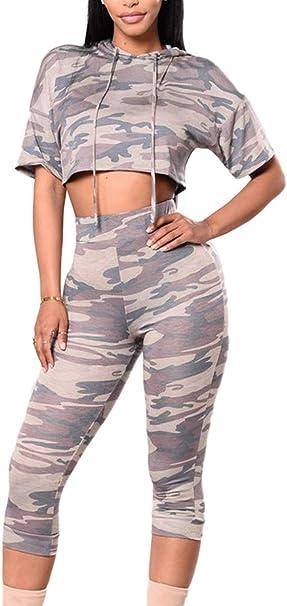 Ropa Casual Mujer 2 Elegantes Y Set Pantalones Hoodie Pedazos Ropa ...