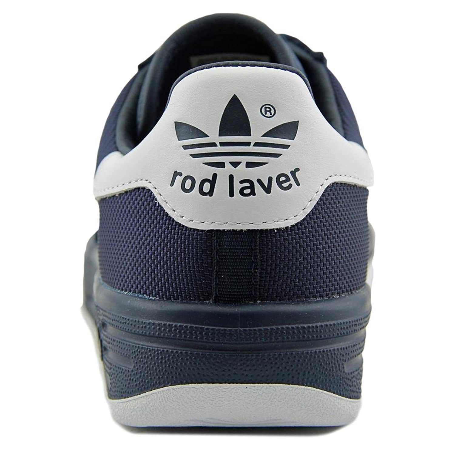 Amazon.com | Adidas Rod Laver Men Round Toe Synthetic Sneakers | Fashion  Sneakers