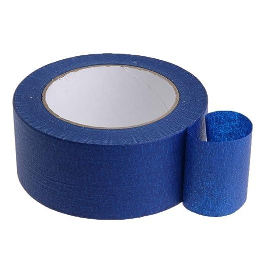 ULTECHNOVO cinta de pintores azules fácil y limpia remoción borde ...