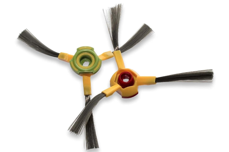 vhbw Set de cepillos laterales de recambio para izquierda y derecha para Hoover RVC0010, RVC0011, RVC0011-001, Robot RVC0010, RVC0011.: Amazon.es: Hogar