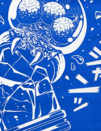 Switch Snes hombre 3ds Outburst Blue Samus Camiseta Aran para Hormiga v1x6Hqw