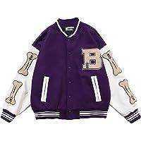 N\C Chaqueta de béisbol Unisex College Jacket Varsity Jacket Chaqueta Sweat Streetwear Vintage Streetwear Oversized…