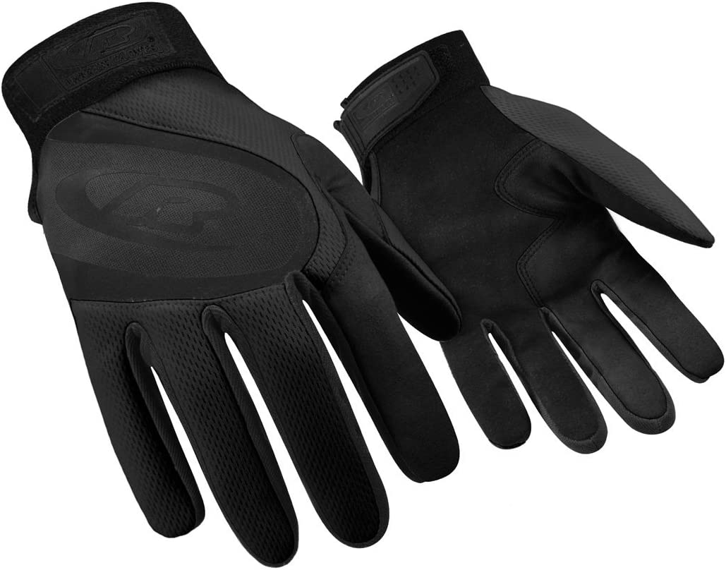 Velcro Secure Cuff Closure X-Large Ringers Gloves R-133 Turbo Plus Black Essential Hand Protection